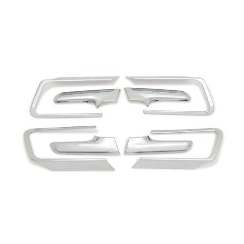 For Toyota prado J150 2014-19 Interior Door Handle cup Bowl Trim Ring Cover trim