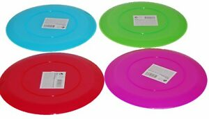 Image is loading Set-of-4-Bright-Coloured-Dinner-Plates-Salad-  sc 1 st  eBay & Set of 4 Bright Coloured Dinner Plates. Salad Plates 23cm | eBay