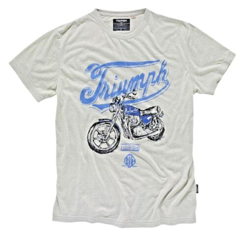 GENUINE TRIUMPH MOTORCYCLE T-SHIRT CROSBY BONNEVILLE TEE