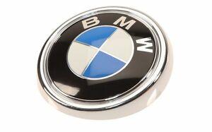 Genuine Bmw Roundel Rear Trunk Lift Gate Hatch Emblem Sign