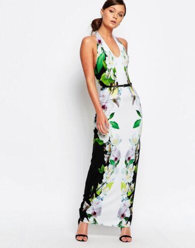 10 Bnwt Dress Summer Size Millen Floral Karen Maxi fwYRYq