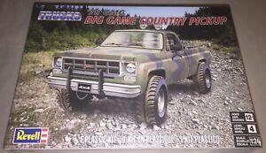 Revell-039-78-GMC-Big-Game-Country-Pickup-1-24-model-car-truck-kit-new-7226