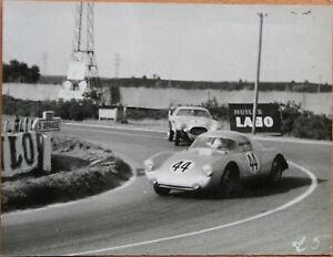 51 . 24 Heures Du Mans . 1953 . Porsche 550 . 1 X Photo . Format : 12 X 9 Cm . Design Professionnel