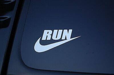 5K Fun Run Marathon Run Running Jogging Vinyl Die Cut Decal Window Car