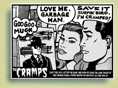 Cramps Off The Bone / Songs The Lord Taught Us Promo Poster