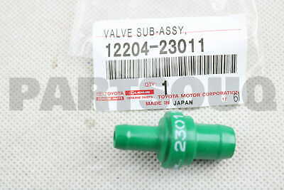 Toyota Altezza SXE10 3SGE Genuine PCV Valve Sub-assy Ventilation 12204-88570 F//S