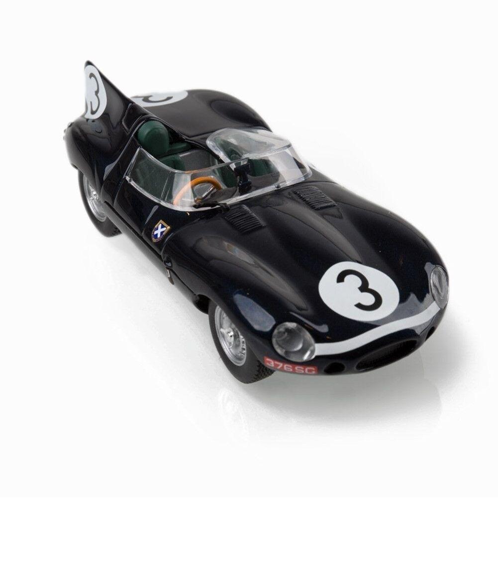 ORIGINALE Jaguar D-TYPE LE MANS modello auto nero 1:43 50 jdcadtlm NUOVO