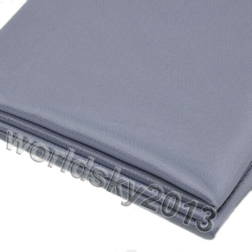 Speaker Grill Cloth Audio Stereo Cover Dust Fabric Mesh Cloth 1.6x0.5m #Silver