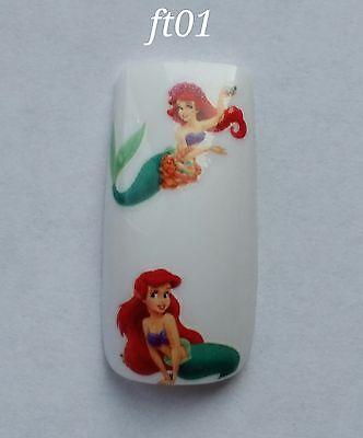 Nail Art Water Transfer- Princess Decal #329NP SY1690 Sticker Disney Ariel