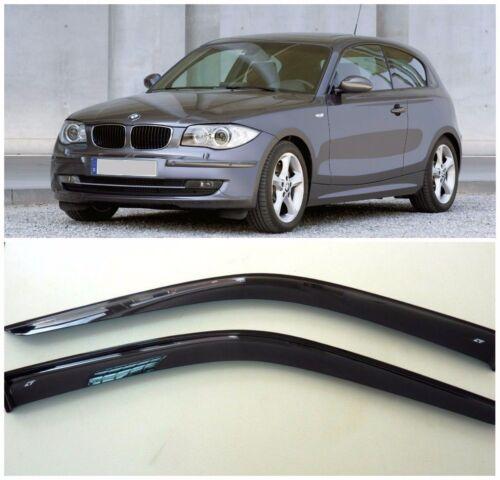 Side Window Visors Sun Guard Vent Deflectors for BMW 1 Hb 3d E81 2007-2011