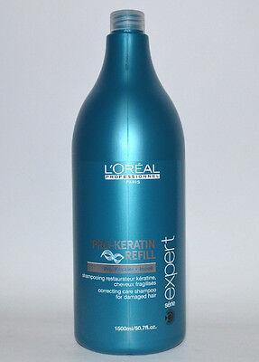 Loreal - Pro Keratin Refill Shampoo 1500ml  für strukturgeschädigtes Haar