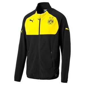 Puma-BVB-Full-Zip-Fleece-Jacke-Herren-Sportjacke-sweatshirt-zipper-warmCell