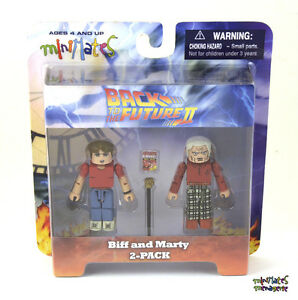 Back to the Future Minimates Previews Exclusive Future Biff & Marty