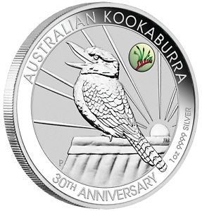 2020-ANDA-Show-Special-30th-Ann-Kookaburra-1oz-1-Silver-Coin-w-Paw-Privy