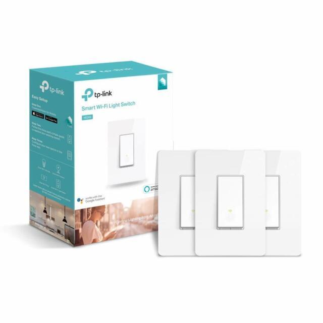 TP-Link 3-Pack Kasa Wi-Fi Light Switch Works w/ Alexa & Google Home (HS200P3)