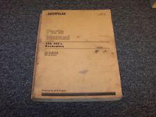 Caterpillar Cat 325 325L Hydraulic Excavator Factory Parts Catalog Manual Book