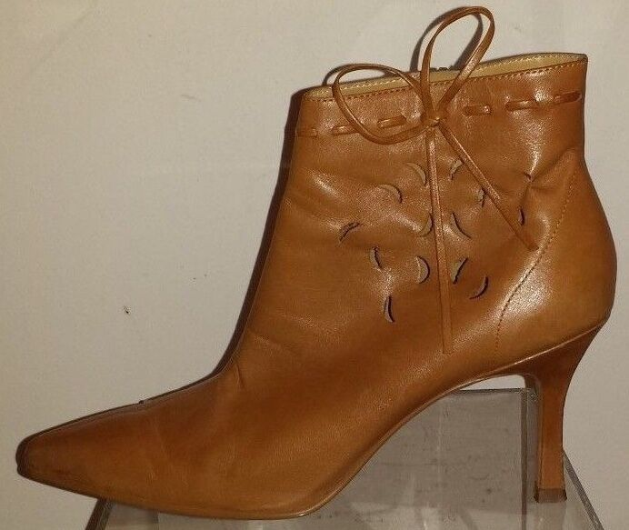 Hokus Pokus Piazza Tan Ankle Boot 7.5 M Leather