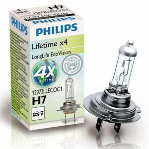 PHILIPS Longlife EcoVision H7 voiture ampoule de phare 12972 LLECOC 1 (Single)