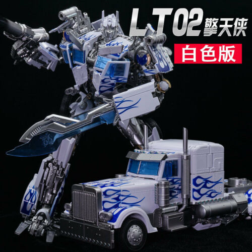 New Transformers LegendaryToys LT02-W Optimus Prime WHITE VERSION In