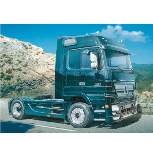 Italeri 1-24 Mercedes Benz Actros Edition Noire 510003841 Kit Plastique 242mm