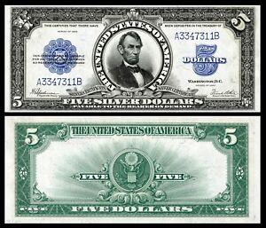 Reproduction-1923-5-Silver-Cert-Lincoln-Porthole-Super-Hi-Res-AmazingDetail