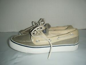 Women-039-s-SPERRY-TOP-SIDER-Marine-2-Eyelet-BOAT-SHOES-sz-5-1-2-M-L-7-CH24-9561143