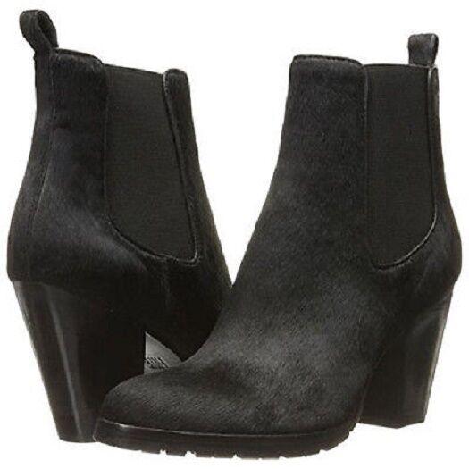 New in Box Womens FRYE Womens Tate Haircalf Chelsea Boot Black 9.5 M   349