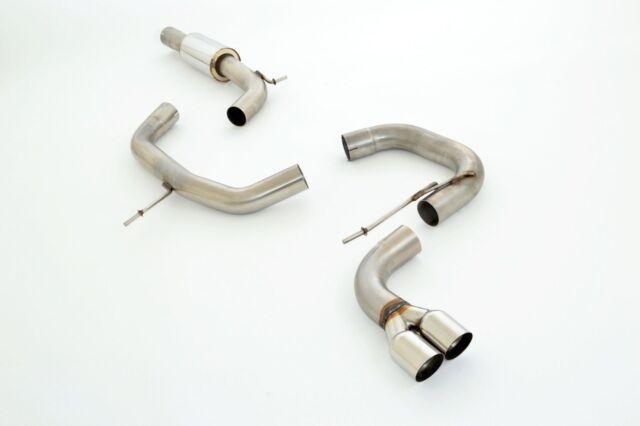 FMS 76mm acier inoxydable Système d'échappement sport VW GOLF V