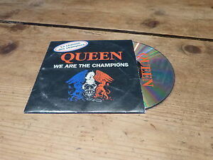 QUEEN-WE-ARE-THE-CHAMPIONS-RARE-CD-FRANCE