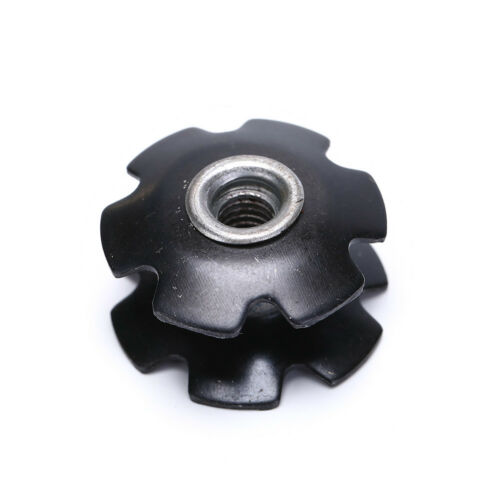 """1pcs Bike Bicycle Cycling Steer Tube Headset Aluminum Star Nut 1 1//8/"""" 28.6mm SP"""