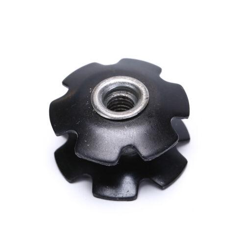 "1pcs Bike Bicycle Cycling Steer Tube Headset Aluminum Star Nut 1 1//8/"" 28.6mDOFA"