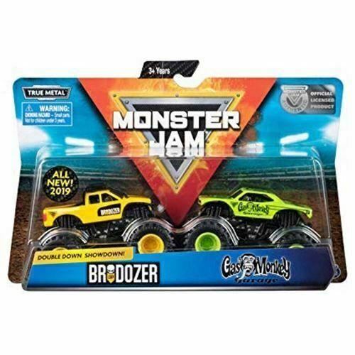 Spin Master 2019 Monster Jam Trucks Double Down Showdown ...