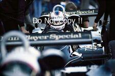 Nigel Mansell Lotus 91 Swiss Grand Prix 1982 Photograph