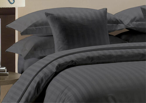 1000TC NEW EGYPTIAN COTTON EXTRA DEEP POCKET KING BEDDING ITEM ALL STRIPE COLOR.