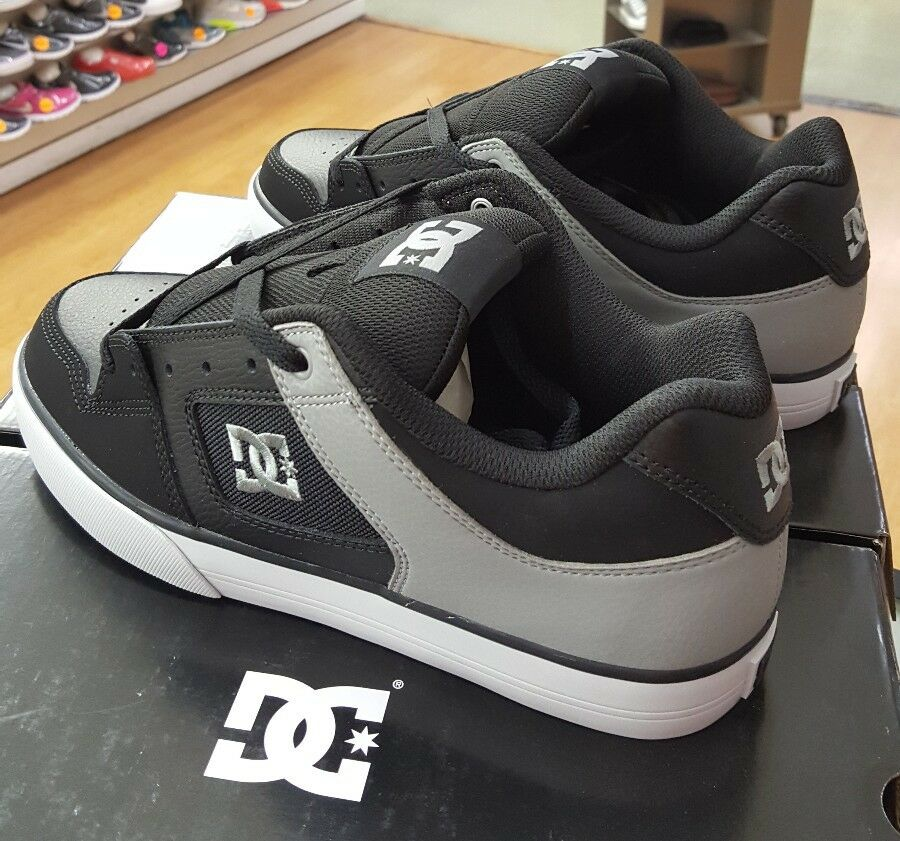 DC PURE 300660 BLACK/GREY 12 (XKKS) MEN'S US SZ 12 BLACK/GREY 2fb562