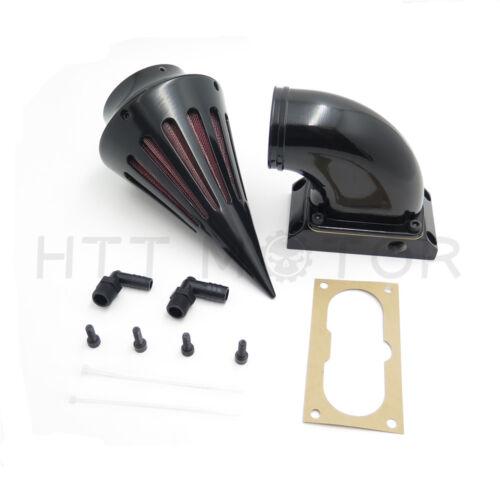 Spike Air Cleaner Filter For Kawasaki Vulcan 2000 Vn2000 Classic Lt Black New