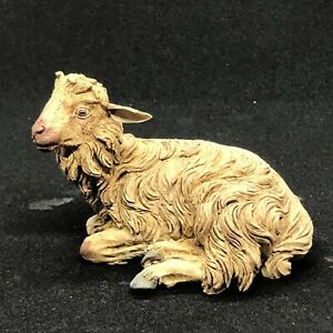 Pecora-Sheep-Animale-Da-Presepe-Agnello-Cortile-Scena-Campestre