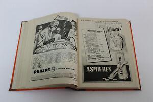 Antigua Revista Clinica Española C. Jimenez Diaz Tomo LVII 1955 Abril a Junio