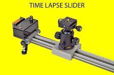 75 cm motorized time lapse video slider timelapse for DSLR GoPro etc.