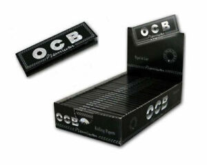 OCB-Premium-25-Librillos-papel-de-fumar-Liar-tabaco-Cigarros-1-1-4-Rolling-Paper
