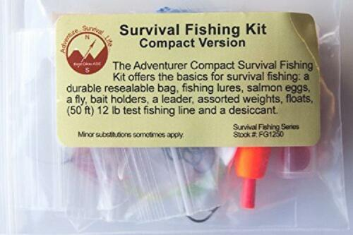 Compact Version Best Glide Ase Survival Fishing Kit