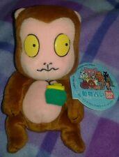 MONKEY @1999 BANDAI PLUSH Zoo Logical Fortunetelling Rilakkuma Figure Japan Toys