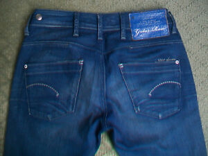 WOMENS-G-STAR-LOW-T-SKINNY-JEANS-SIZE-8