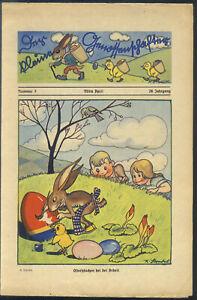 Der-kleine-Genossenschafter-Nr-7-von-1934-mit-Micky-Maus-Story-TOP-Z1-SELTEN