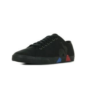 Chaussures-Baskets-Le-Coq-Sportif-homme-Verdon-Bold-Canvas-taille-Noir-Noire