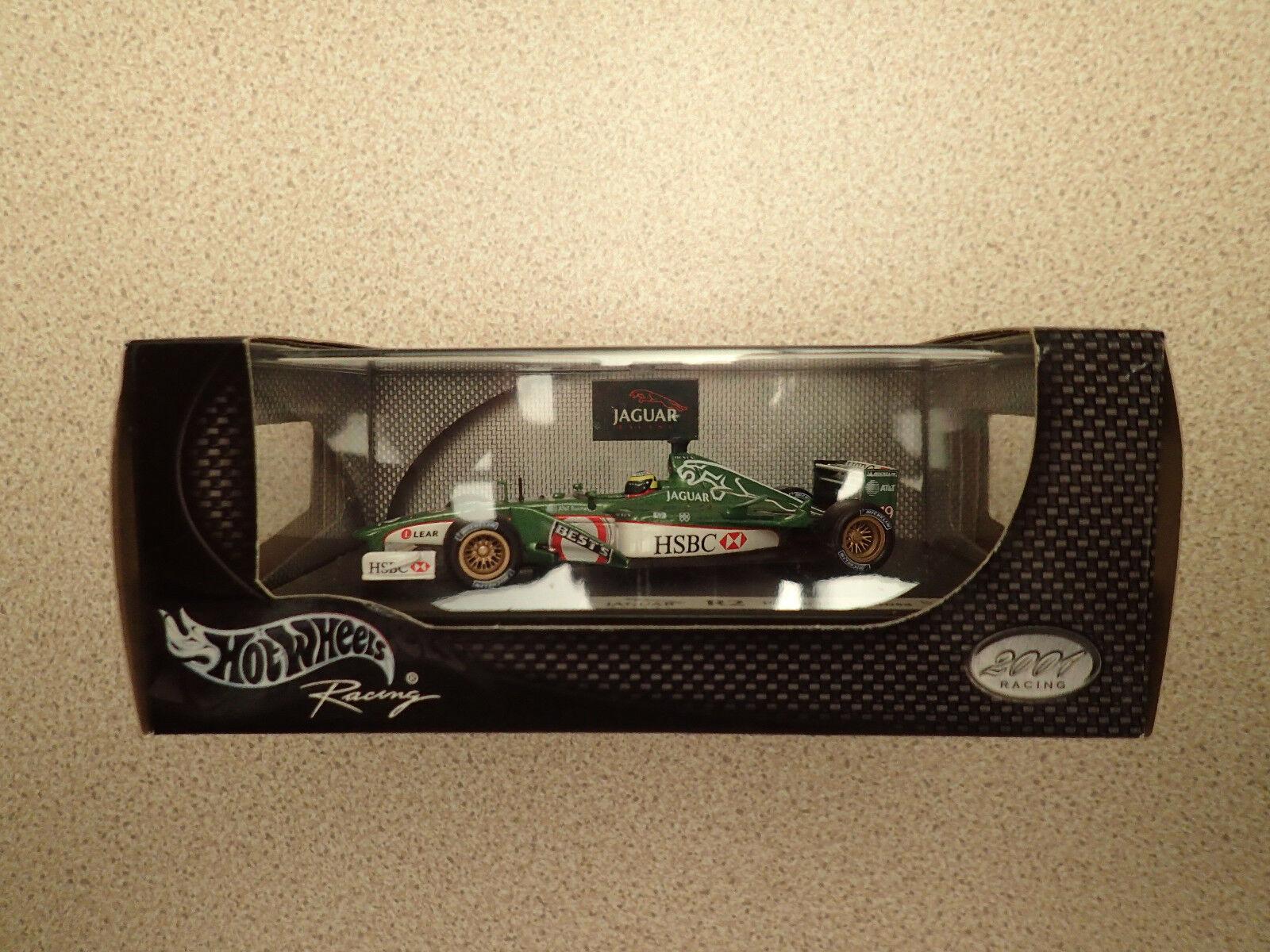 Hot Wheels Racing 2001 1 43 50206 Jaguar R2 Pedro De La pink Sealed Untouched
