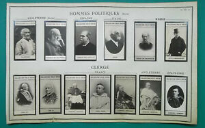 1900-PORTRAIT-PHOTOS-Politicians-Clergy-England-Spain-Russia-France-USA-Italy