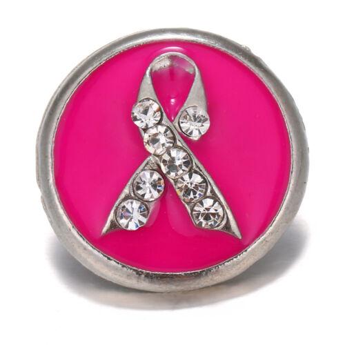 10pcs Cristal Alliage Charme Ginger Snap Bouton pour Noosa Collier//Bracelet N719