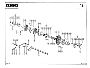 CLAAS Markant 65 Baler Parts Catalogue (PDF file) SPARE PARTS LIST CATALOGUE  | eBay