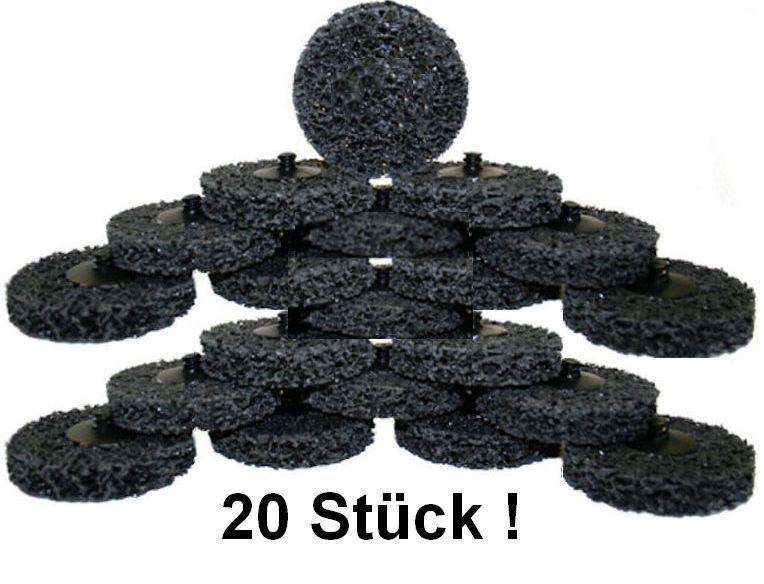 20x ROLOC CSD Gewebe-Schleifscheiben 50 x10 SiC GROB Reinigungs-Nylonkeks COARSE